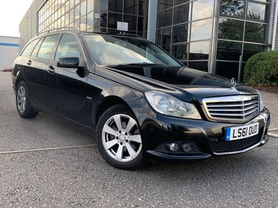 Mercedes-Benz C Class Estate 2.1 C200 CDI BlueEFFICIENCY SE Edition 125 5dr