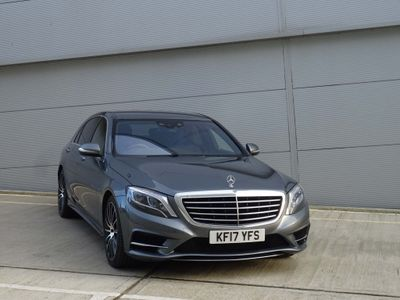 Mercedes-Benz S Class Saloon 3.0 S500L h AMG Line (Executive) 7G-Tronic Plus (s/s) 4dr
