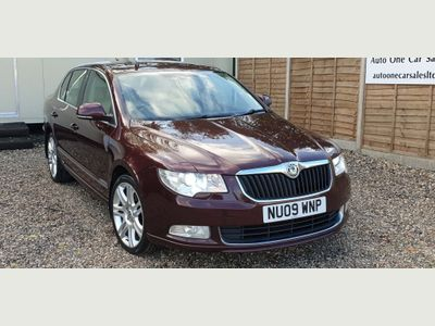 SKODA Superb Hatchback 2.0 TDI CR Elegance DSG 5dr