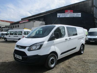 FORD TRANSIT CUSTOM Other 2.2 TDCi 290 L1H1 Double Cab-in-Van 5dr