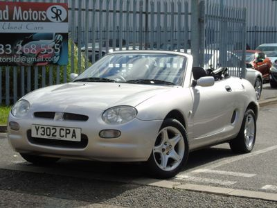 MG MGF Convertible 1.6 i 2dr