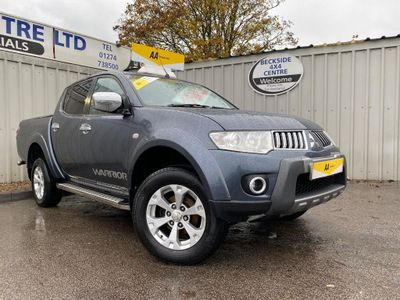 Mitsubishi L200 Pickup 2.5 DI-D CR Warrior LB Double Cab Pickup 4WD 4dr