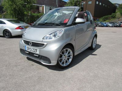 Smart fortwo Convertible 0.8 CDI Passion Cabriolet Softouch 2dr