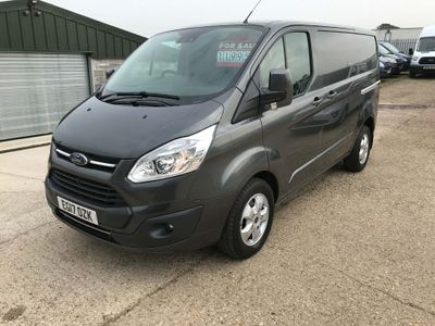 FORD TRANSIT CUSTOM Panel Van 2.0 TDCi 270 L1H1 Limited FWD 5dr