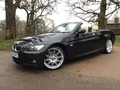 BMW 3 Series Convertible 3.0 335i M Sport Highline DCT 2dr