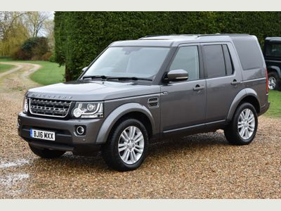 Land Rover Discovery 4 Panel Van 3.0 SD V6 SE Panel Van 5dr