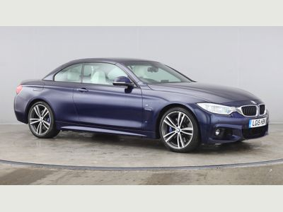 BMW 4 Series Convertible 3.0 435i M Sport Auto 2dr