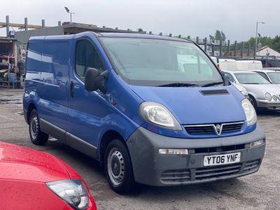 Vauxhall Vivaro Panel Van 1.9 CDTI 2700 Panel Van SWB 4dr (SWB)
