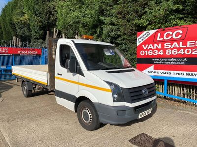 Volkswagen Crafter Chassis Cab 2.0 TDI CR35 LWB Dropside Truck 2dr (LWB)
