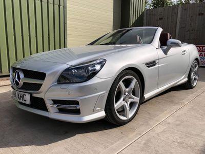 Mercedes-Benz SLK Convertible 1.8 SLK200 BlueEFFICIENCY AMG Sport Edition 125 7G-Tronic Plus 2dr