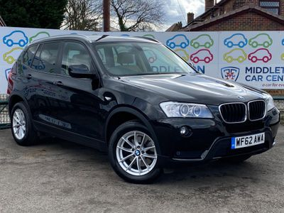 BMW X3 SUV 2.0 20d BluePerformance SE Auto xDrive 5dr