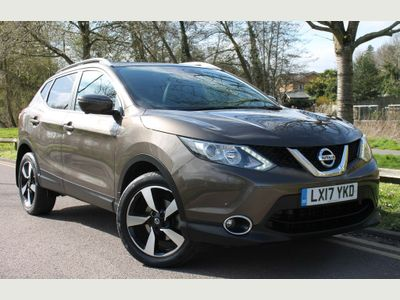 Nissan Qashqai SUV 1.6 DIG-T N-Vision 5dr (18in Alloys)