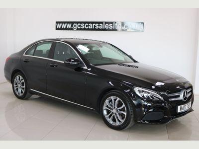 Mercedes-Benz C Class Saloon 2.0 C200 Sport G-Tronic+ (s/s) 4dr