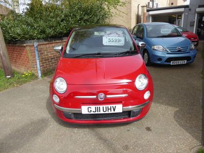 Fiat 500 Hatchback 0.9 Lounge Dualogic 3dr