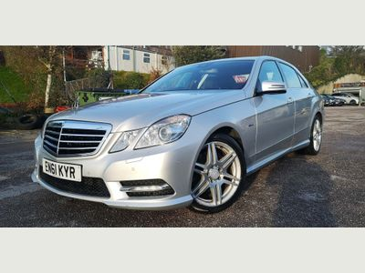 Mercedes-Benz E Class Saloon 2.1 E250 CDI BlueEFFICIENCY Sport Edition 125 G-Tronic (s/s) 4dr