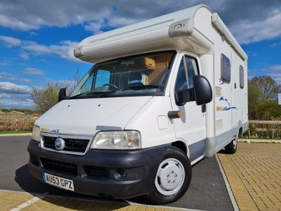Swift Sorry now sold Coach Built Fiat ducato