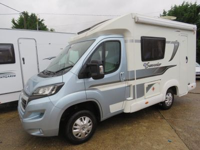 Elddis Autoquest 115 Low Profile Sunseeker special edition