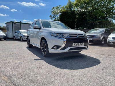 Mitsubishi Outlander SUV 2.0h 12kWh GX3h CVT 4WD (s/s) 5dr