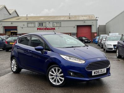 Ford Fiesta Hatchback 1.0 T EcoBoost Titanium Powershift (s/s) 5dr