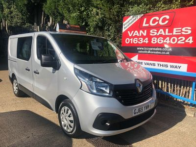 RENAULT TRAFIC Other 1.6 dCi 27 Business+ L1 Crew Van 5dr