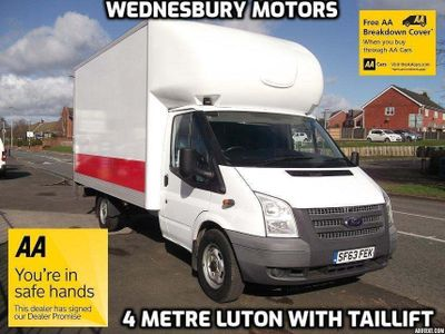Ford Transit Luton XLWB Luton with Taillift