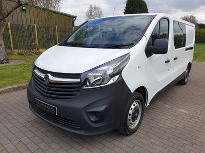 Vauxhall Vivaro Other 1.6 CDTi 2900 Crew Van L2 H1 EU6 5dr (6 Seat)