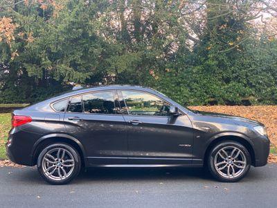 BMW X4 SUV 2.0 20d M Sport xDrive (s/s) 5dr