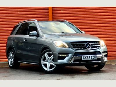 Mercedes-Benz M Class SUV 2.1 ML250 CDI BlueTEC AMG Line (Premium Plus) 7G-Tronic Plus 4MATIC 5dr