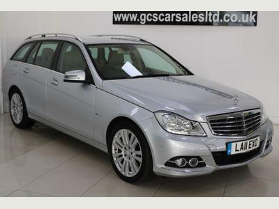 Mercedes-Benz C Class Estate 2.1 C220 CDI BlueEFFICIENCY Elegance G-Tronic 5dr