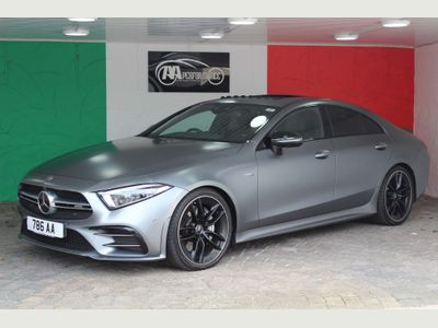 Mercedes-Benz CLS Coupe 3.0 CLS53 AMG Edition 1 SpdS TCT 4MATIC+ (s/s) 4dr