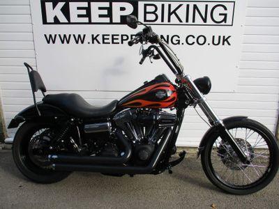Harley-Davidson Dyna Custom Cruiser 1584 FXDWG Dyna Wide Glide