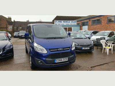 Ford Transit Custom Panel Van 2.0 TDCi 270 L1H2 Limited 5dr