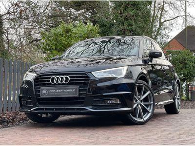 Audi A1 Hatchback 1.6 TDI Black Edition Sportback S Tronic (s/s) 5dr