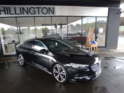 Vauxhall Insignia Hatchback 2.0 Turbo D BlueInjection SRi VX Line Nav Grand Sport (s/s) 5dr
