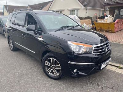 SsangYong Turismo MPV 2.0 e-XDi EX T-Tronic 4WD Selectable 5dr