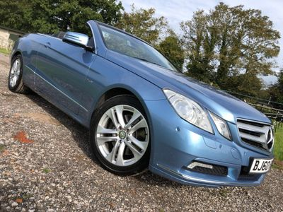 Mercedes-Benz E Class Convertible 3.5 E350 CGI BlueEFFICIENCY SE Cabriolet G-Tronic 2dr