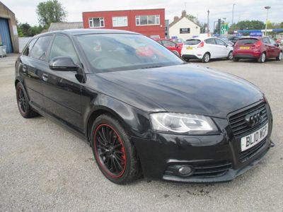 Audi A3 Hatchback 2.0 TFSI Black Edition Sportback 5dr