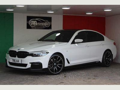 BMW 5 Series Saloon 2.0 520i GPF M Sport Auto (s/s) 4dr