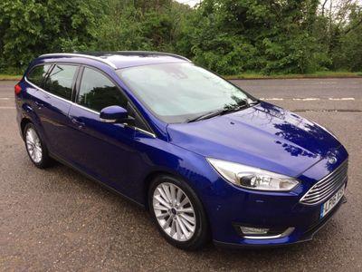 Ford Focus Estate 1.5 TDCi Titanium X Powershift (s/s) 5dr