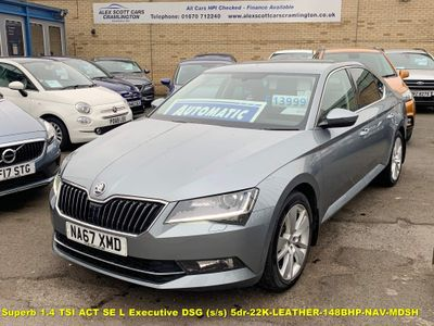SKODA Superb Hatchback 1.4 TSI ACT SE L Executive DSG (s/s) 5dr