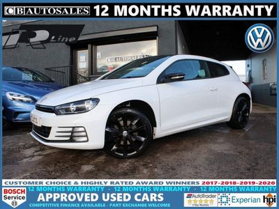 Volkswagen Scirocco Coupe 2.0 TDI BlueMotion Tech R-Line Black Edition Black Edition Hatchback 3dr