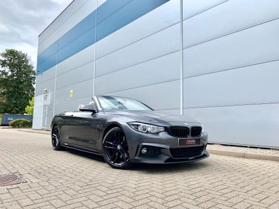 BMW 4 SERIES Convertible 2.0 420i M Sport Auto (s/s) 2dr