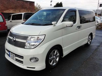 Nissan Elgrand MPV HIGHWAY STAR FRESH IMPORT