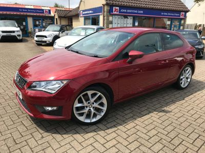 SEAT Leon Hatchback 1.8 TSI FR SportCoupe (s/s) 3dr