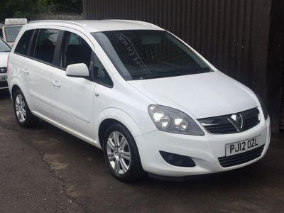 Vauxhall Zafira MPV 1.7 TD Excite 5dr