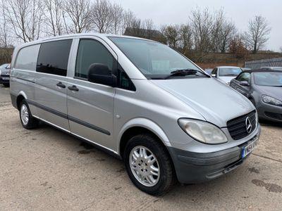Mercedes-Benz Vito Unlisted 6 seat crew van