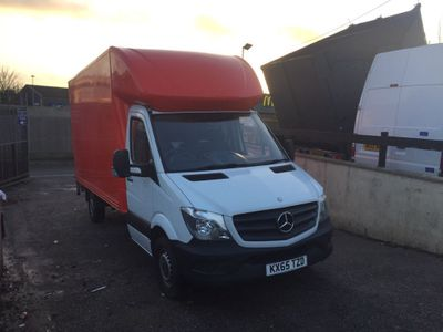 Mercedes-Benz Sprinter Luton 313 luton with taillift