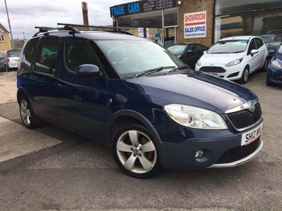 SKODA Roomster MPV 1.6 TDI Scout 5dr