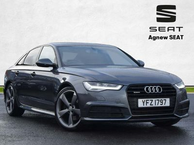 Audi A6 Saloon Saloon 3.0 TDI V6 Black Edition S Tronic quattro (s/s) 4dr