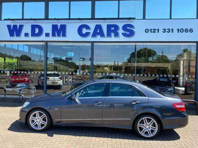 Mercedes-Benz E Class Saloon 2.1 E250 CDI BlueEFFICIENCY Sport G-Tronic 4dr